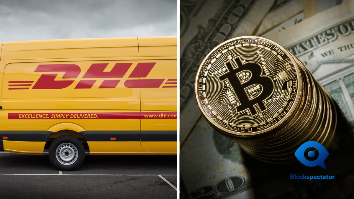DHL, Bitcoin, BTC, Wallet