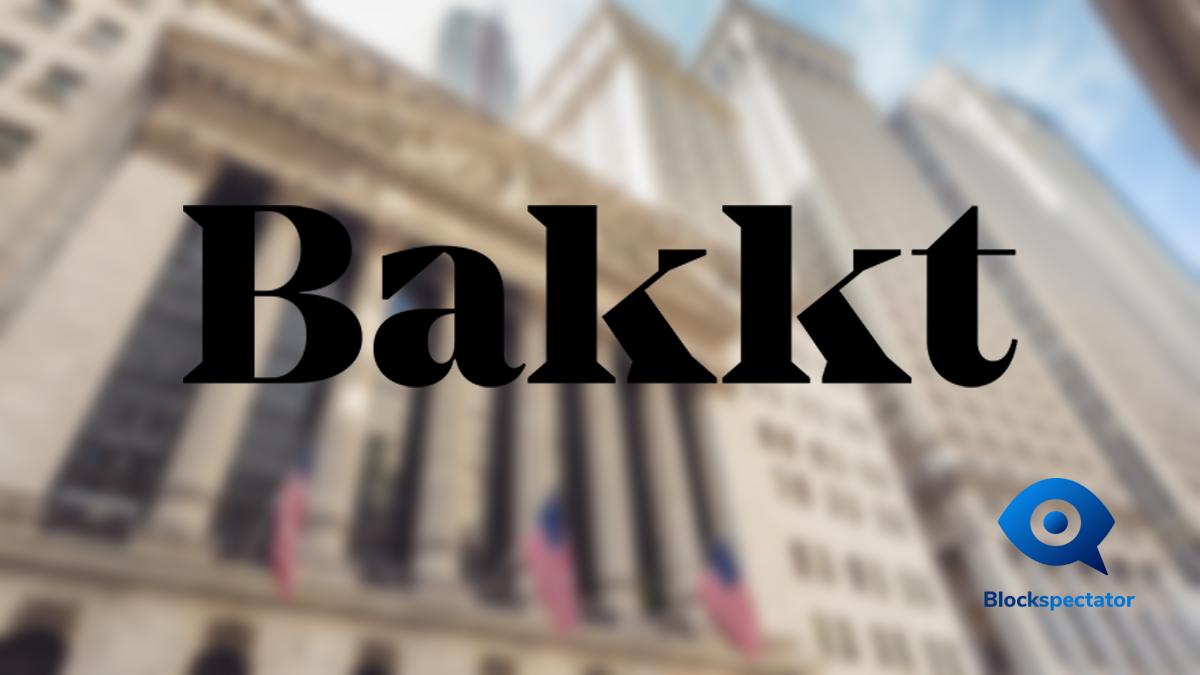 Bakkt, Futures Platform, ICE, NYSE