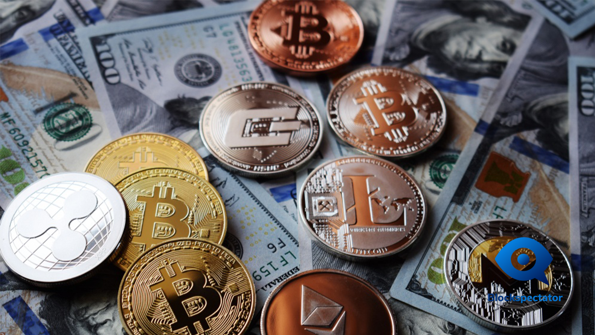 Bitcoin, Ethereum, Ripple, Tron, Stellar