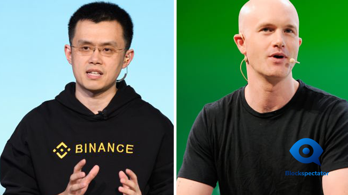 Binance, Coinbase
